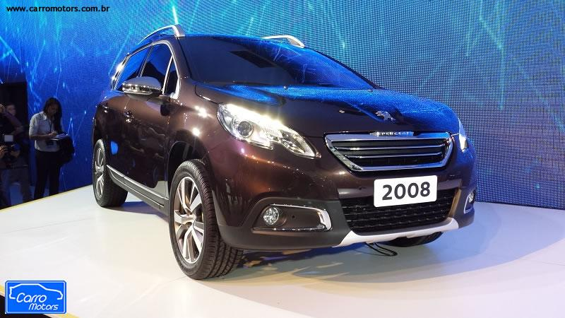 peugeot 2008 novo suv j brasileiro e chega em 2015 carromotors. Black Bedroom Furniture Sets. Home Design Ideas