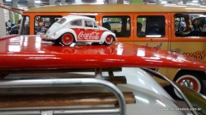 Miniatura do Fusca Coca Cola